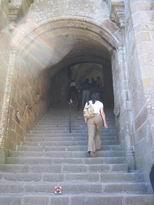 scalone dell'abbazia