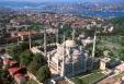 cartolina moschea blu